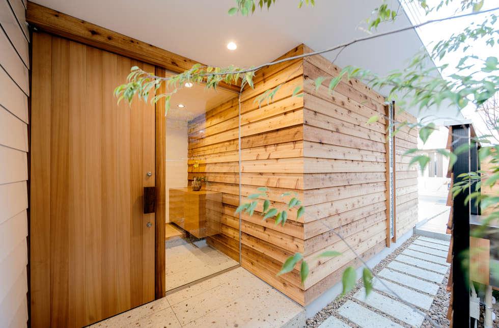 Casas de estilo moderno de アトリエ FUDO
