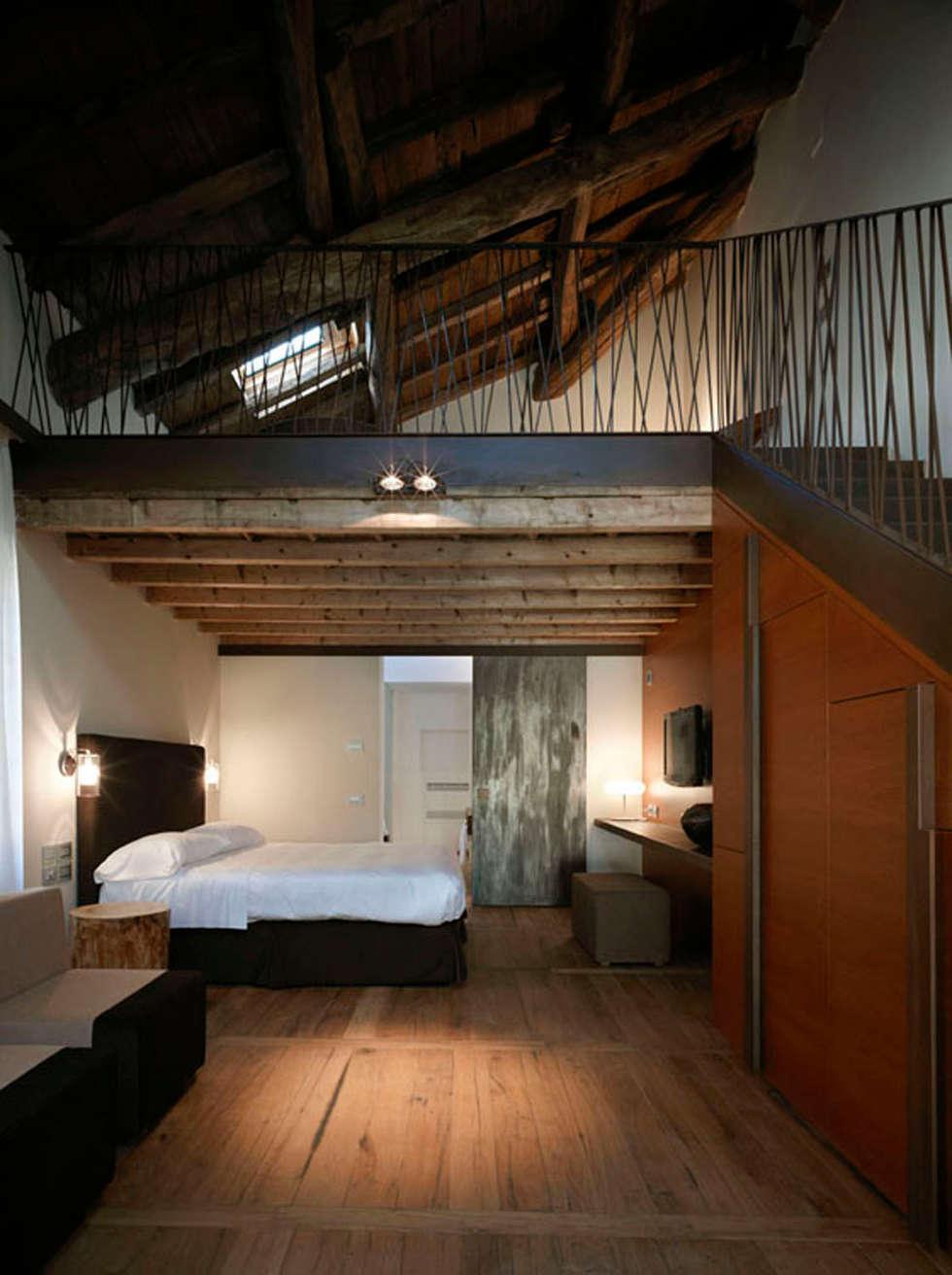 Hotel Mulino Grande: Hotel in stile  di Studio Tesei
