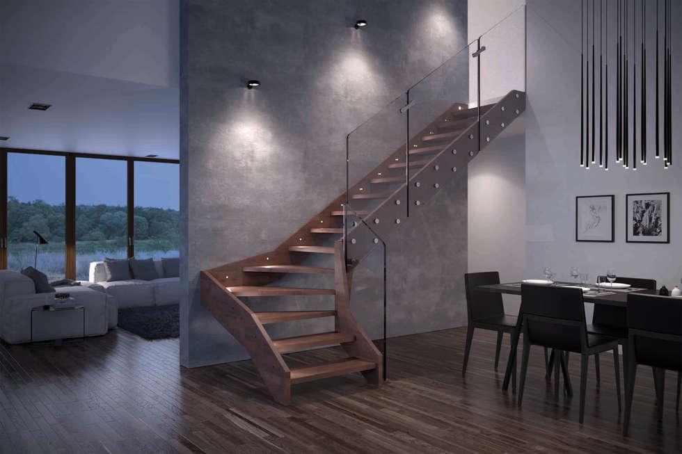 Scale interne in legno firmate rintal ingresso corridoio for Rintal scale prezzi