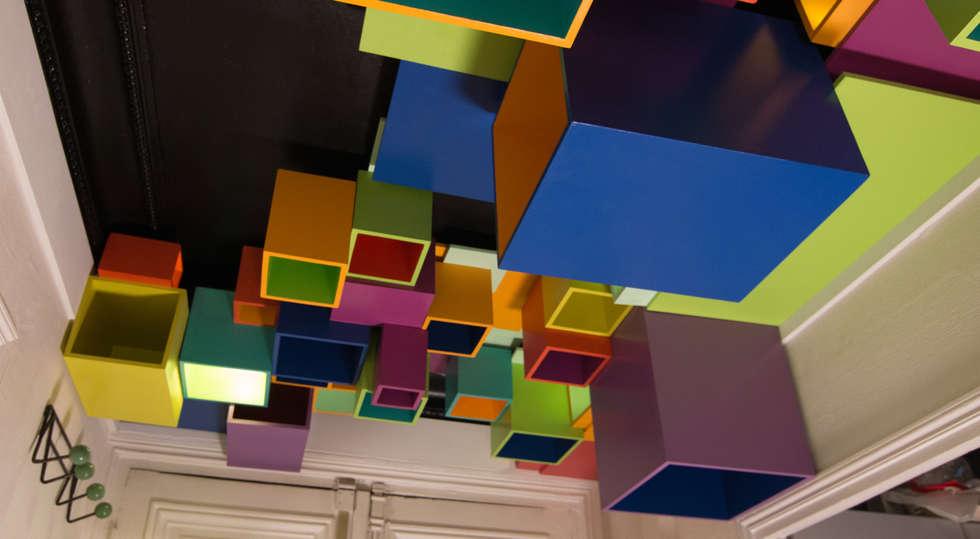 Plafond neo rennaissance.:  de style  par Aurélien de Busscher