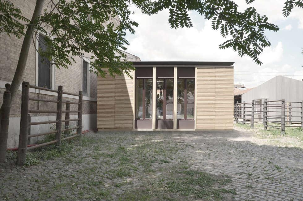 ECOSISTEMA45 _ PROTOTIPO: Case in stile in stile Scandinavo di STUDIO M2R ARCHITETTURA