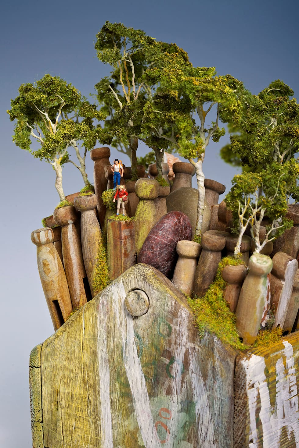 Sublime Climb, Eye Rhyme (detail):  Artwork by Arthouse Gallery