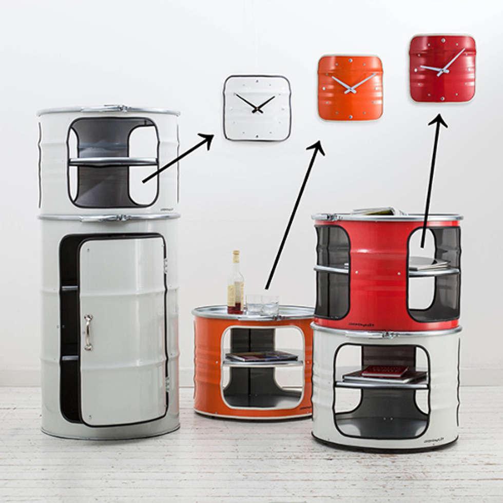 Id Es De Design D Int Rieur Et Photos De R Novation Homify # Meuble En Bidon Recycle
