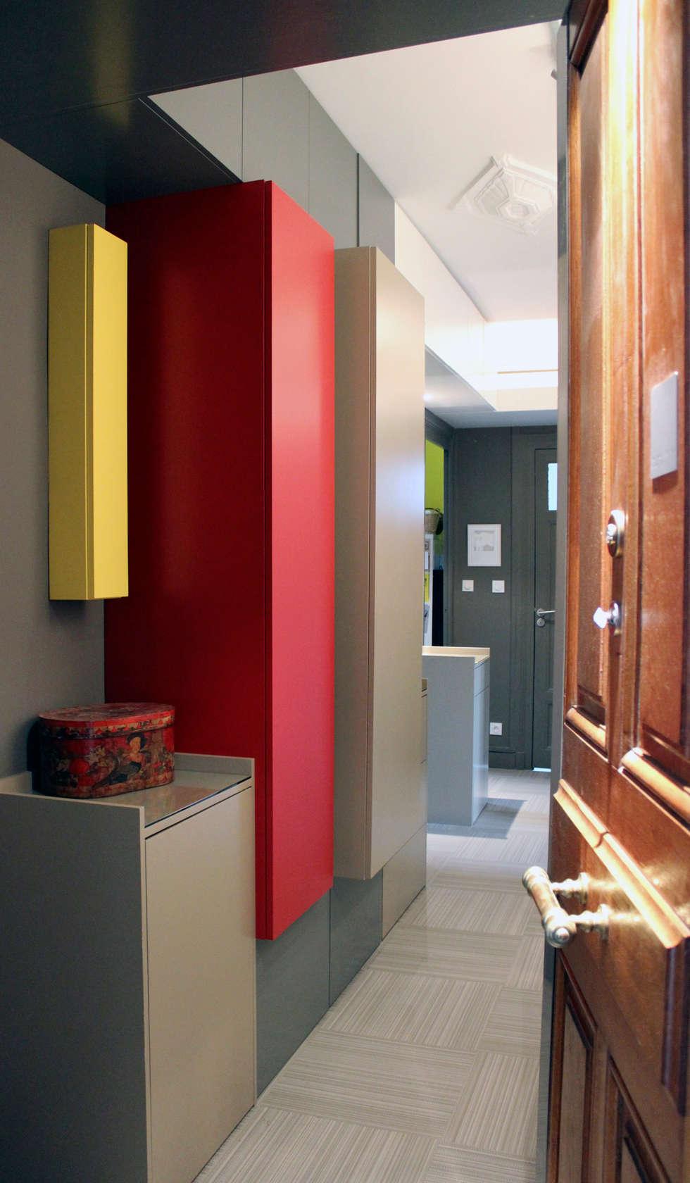 Appartement - Grenoble: Murs de style  par ISIT ARCHITECTURE