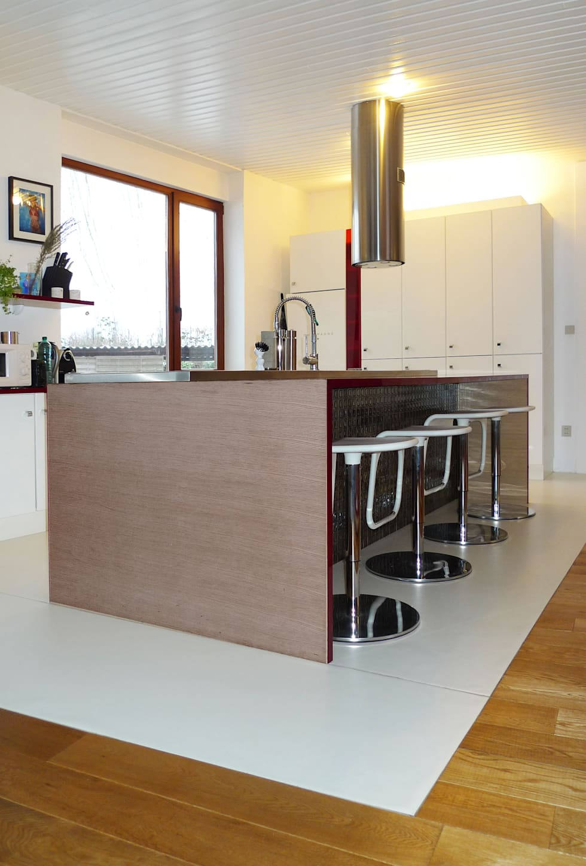 cuisine ouverte: Cuisine de style de style Moderne par Casalamotte