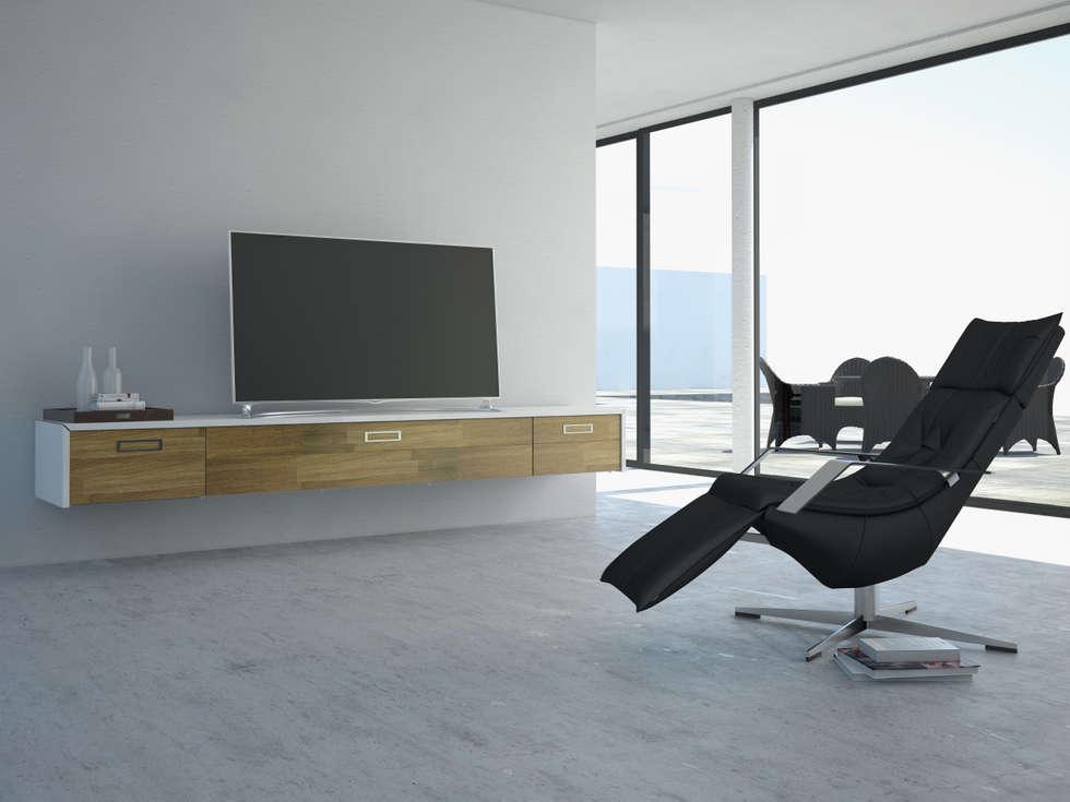 Lowboard Schwebend wohnideen interior design einrichtungsideen bilder homify