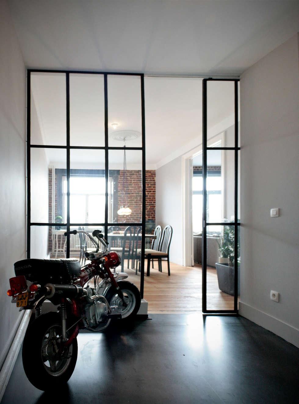 Appartement G.: Maisons de style de style Industriel par Design Parel