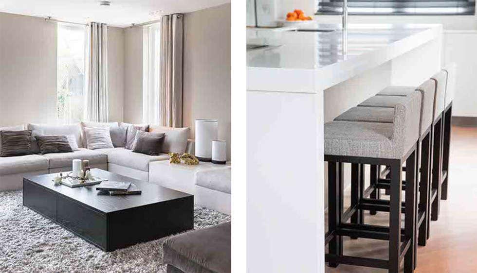 keuken in Italiaanse stijl: moderne Keuken door choc studio interieur