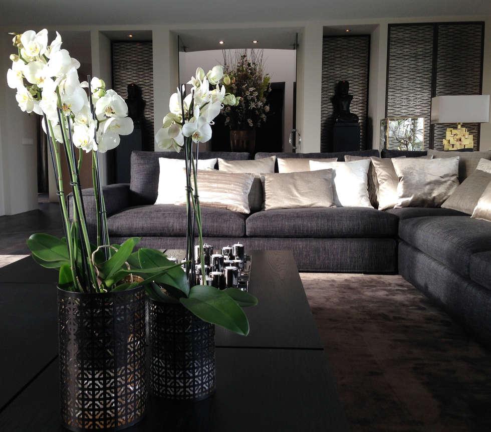 Idee n inspiratie foto 39 s van verbouwingen homify for Deco woonkamer moderne woonkamer