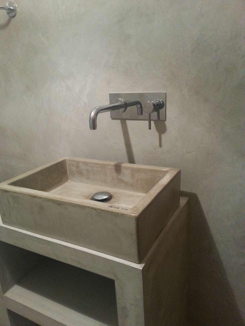 Idee arredamento casa interior design homify - Microcemento bagno ...