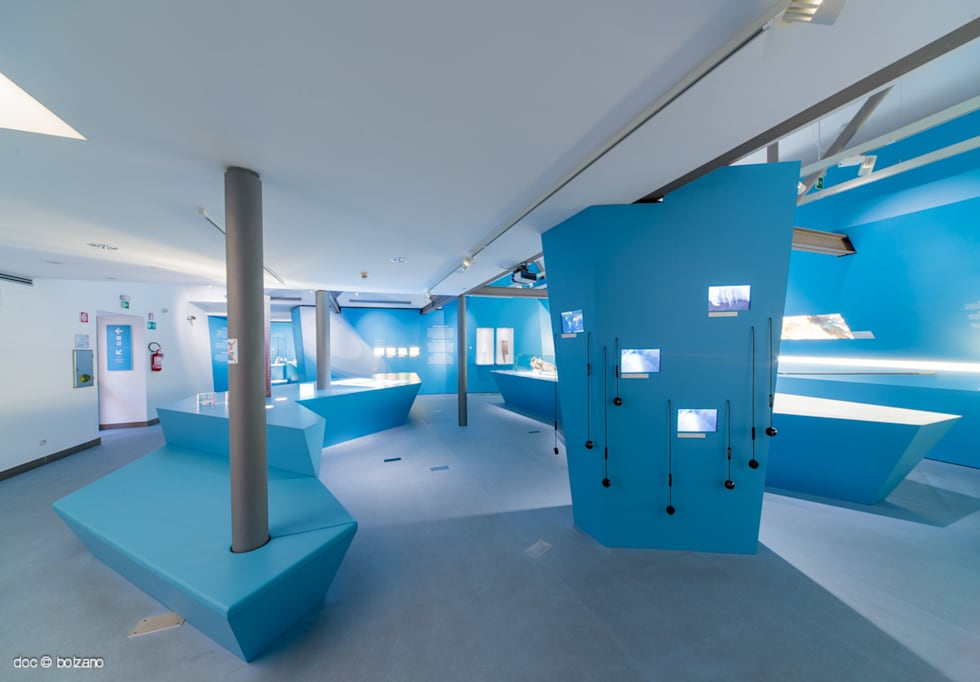 Frozen Stories - l'allestimento: Musei in stile  di DOC SRL