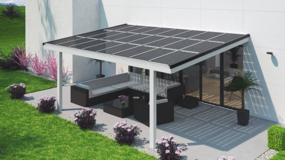 solar glas terrassen berdachung moderner balkon veranda terrasse von solarterrassen. Black Bedroom Furniture Sets. Home Design Ideas