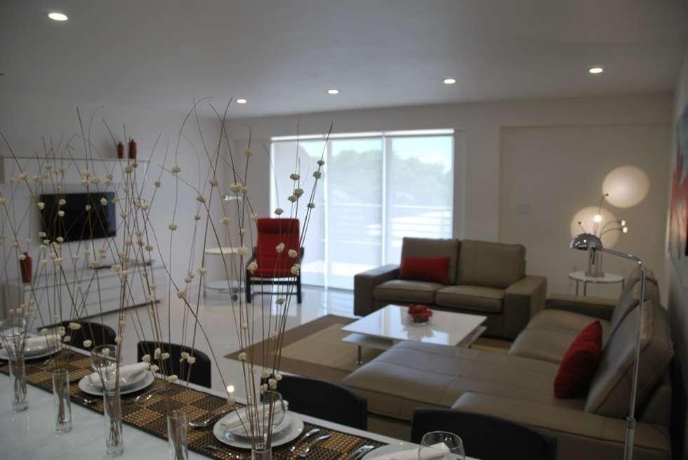Gizem Kesten Architecture / Mimarlik – SALON : modern tarz Oturma Odası