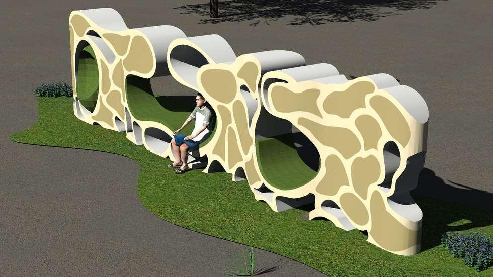 Rendu 3D: Espaces commerciaux de style  par étudiante
