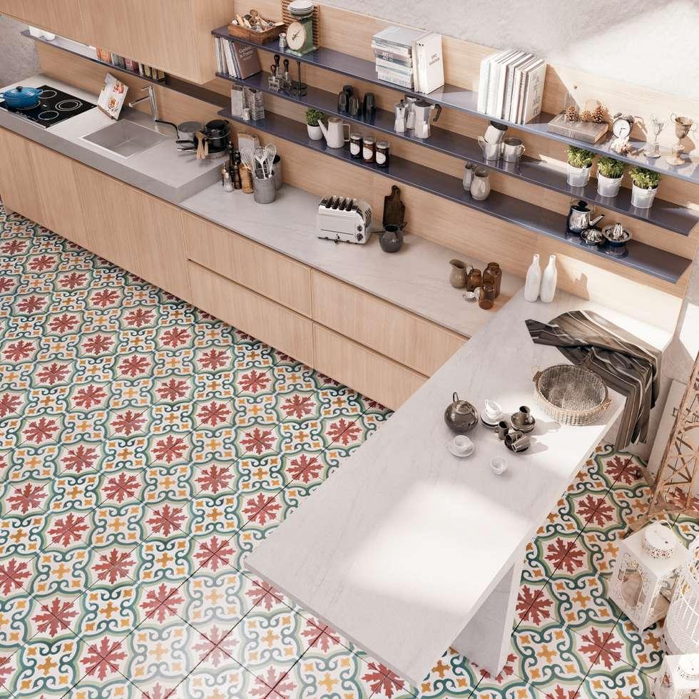 Creta frame: cucina in stile in stile moderno di del tongo | homify