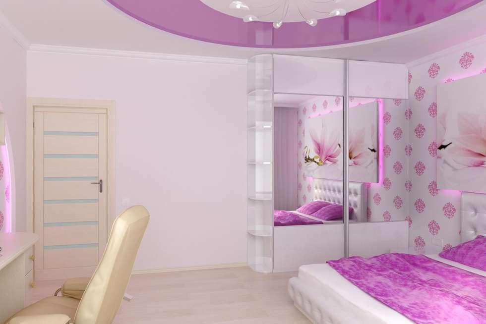 Детская г. Михайловск: Детские комнаты в . Автор – Дизайн студия 'Exmod' Павел Цунев