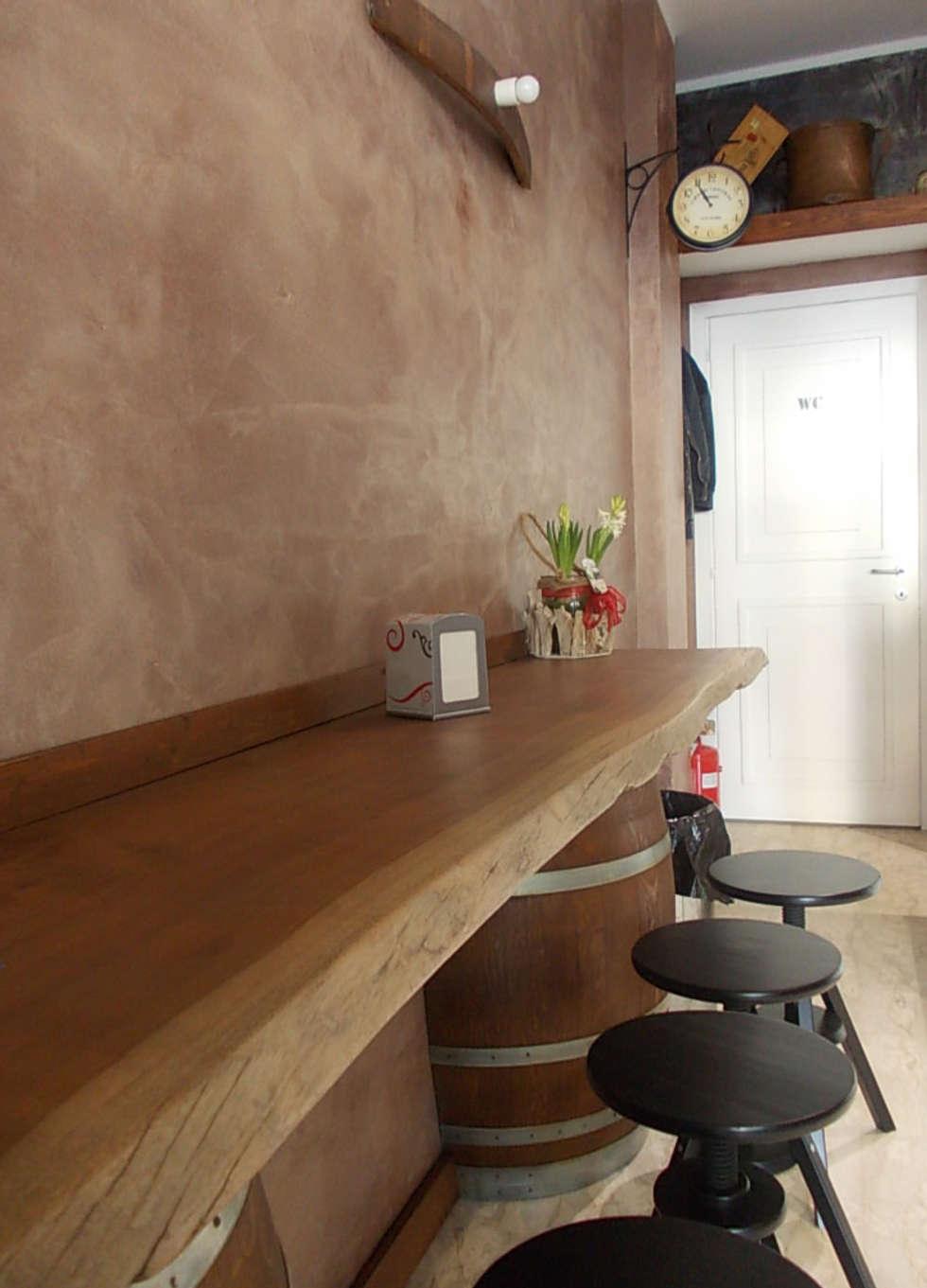 Banco laterale: Negozi & Locali commerciali in stile  di Studio tecnico associato 'Il Progetto'