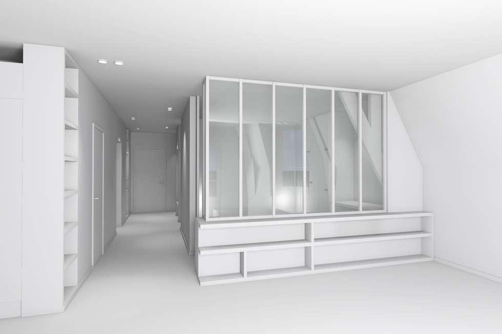 Vues 3d: Chambre de style de style Moderne par Lionel Parquet