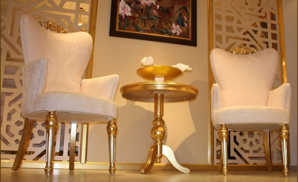 Asortie Mobilya Dekorasyon Aş.  – PALERMO SOHBET SETİ : klasik tarz tarz Evler