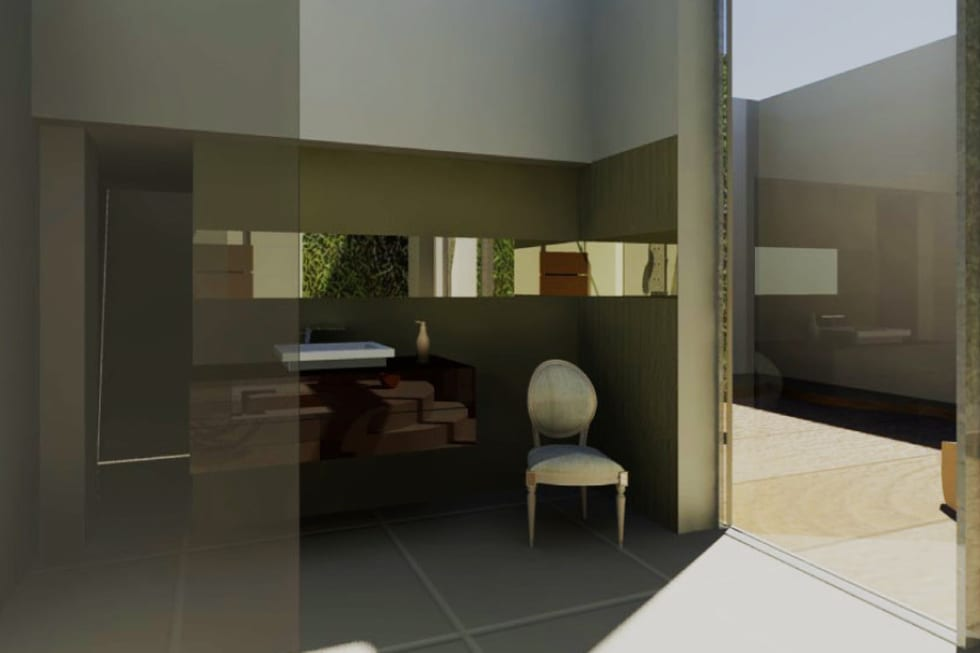 Salle de Bain 1: Salle de bains de style  par Camille DELSAUX