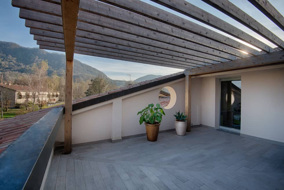Beautiful Tetto A Terrazza Contemporary - Idee Arredamento Casa ...