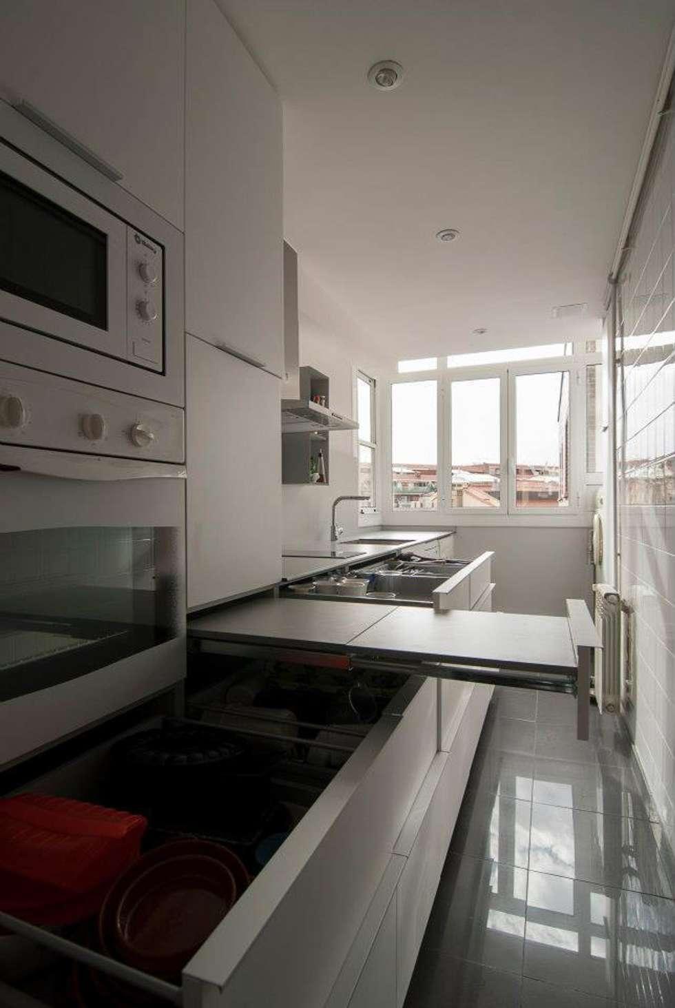 Fotos de decoraci n y dise o de interiores homify - Mesa extraible cocina ...