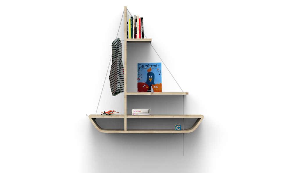 ausgefallene Kinderzimmer von Olivier Hamy designer
