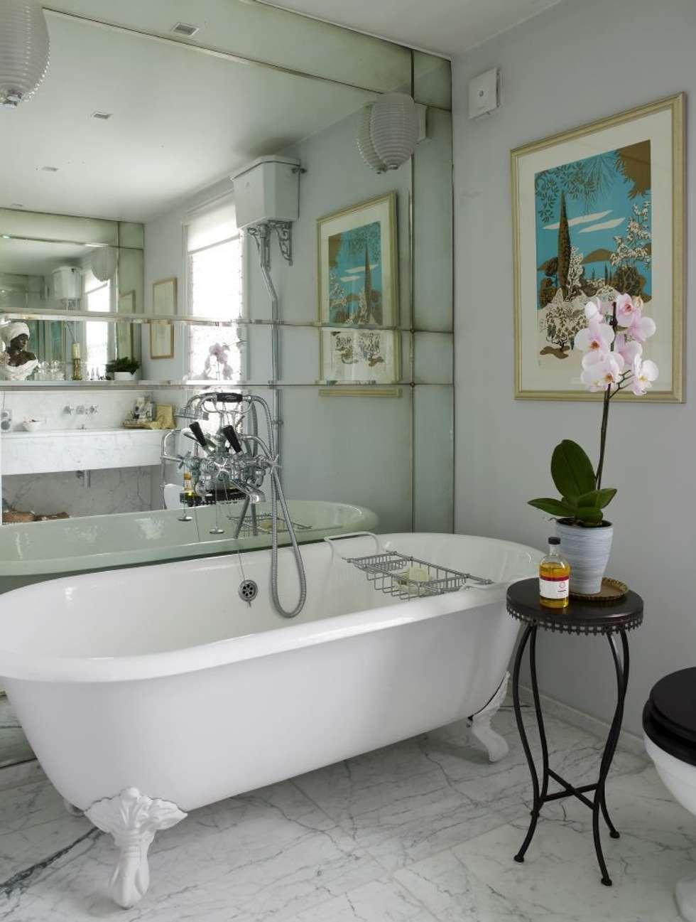 Interior design ideas redecorating remodeling photos homify - Deco badkamer vintage ...