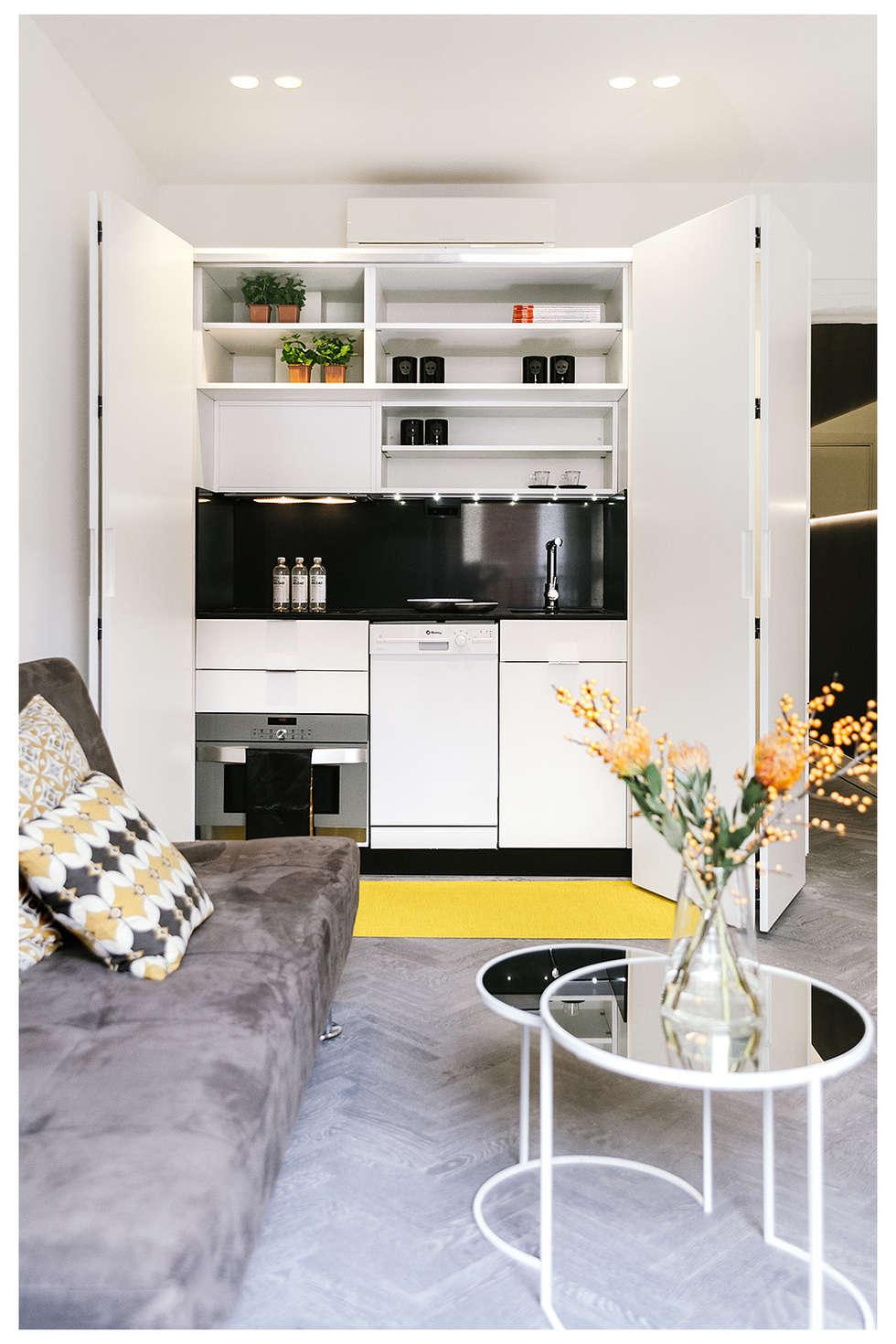 Projekty,  Kuchnia zaprojektowane przez MILL-HOUSE
