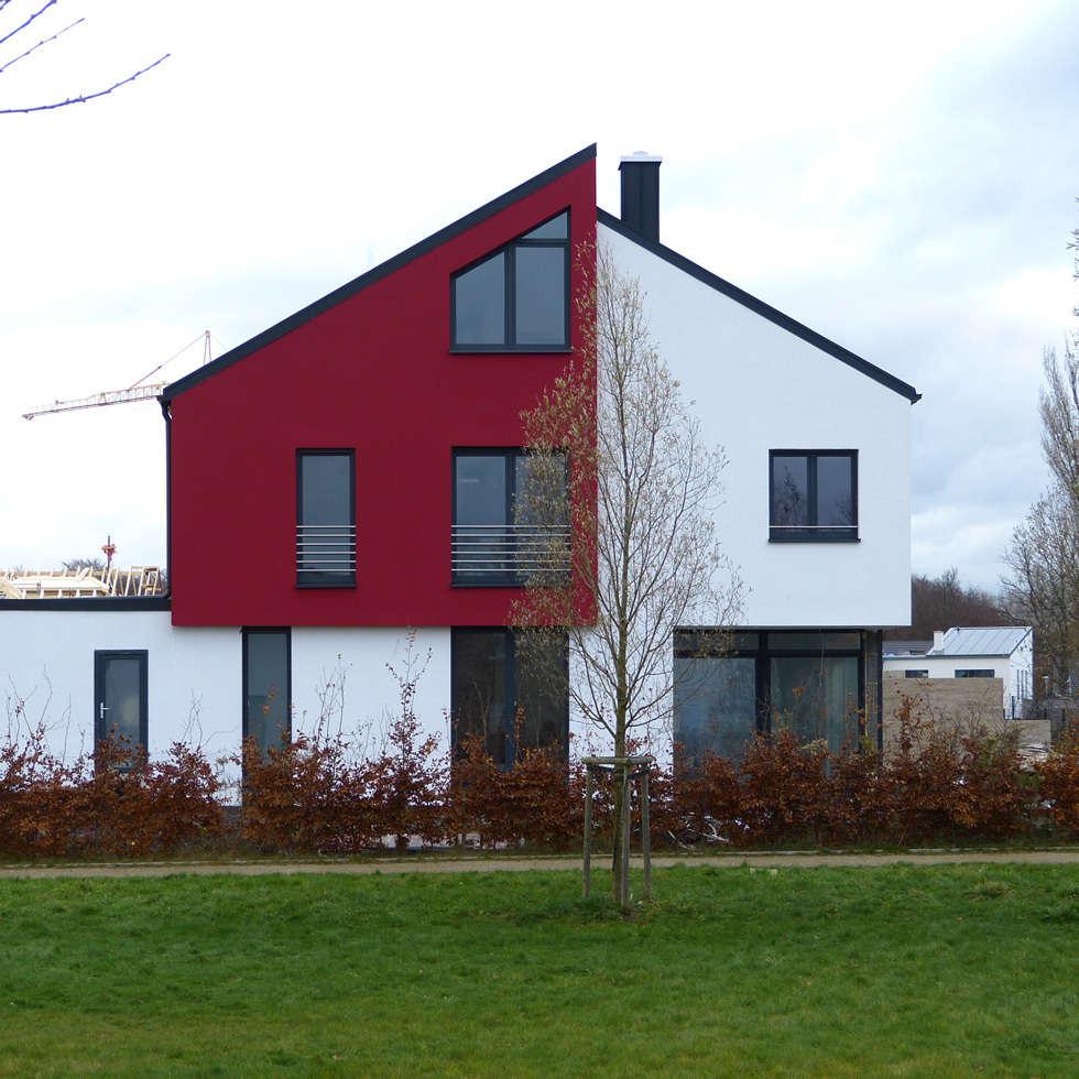 Bauwerk Architekten Haus W: Moderne Häuser Von BauWerk Architekten Dortmund