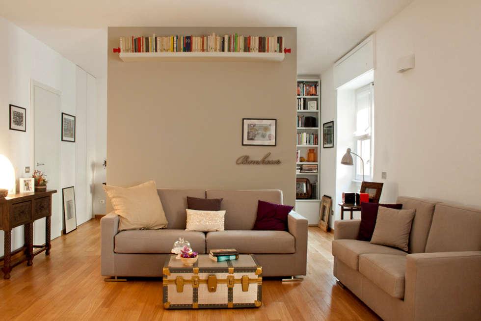 come separare gli spazi in casa senza muri - Muri Divisori Cucina Soggiorno 2