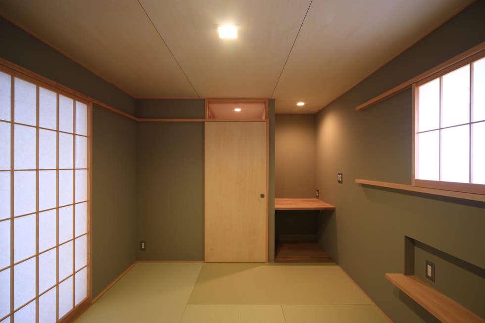 和室1: 悠らり建築事務所が手掛けた家です。