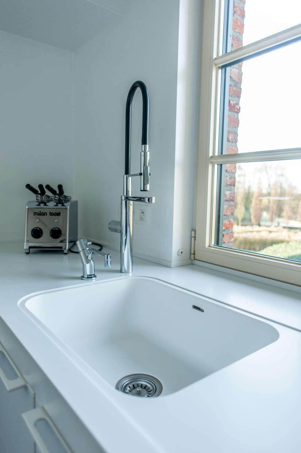 Werkblad: moderne Keuken door Alewaters & Zonen