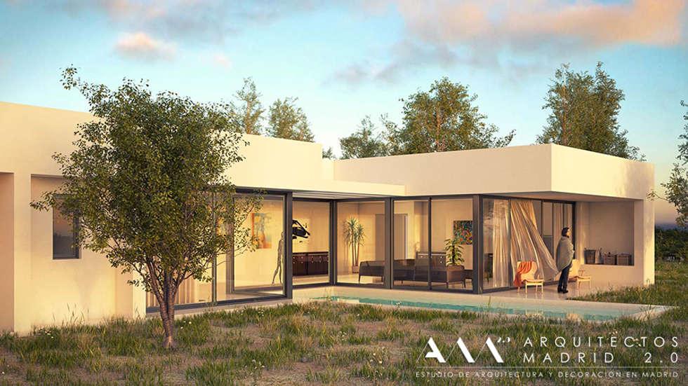 Fotos de piscinas de estilo moderno casa moderna - Casas modernas madrid ...