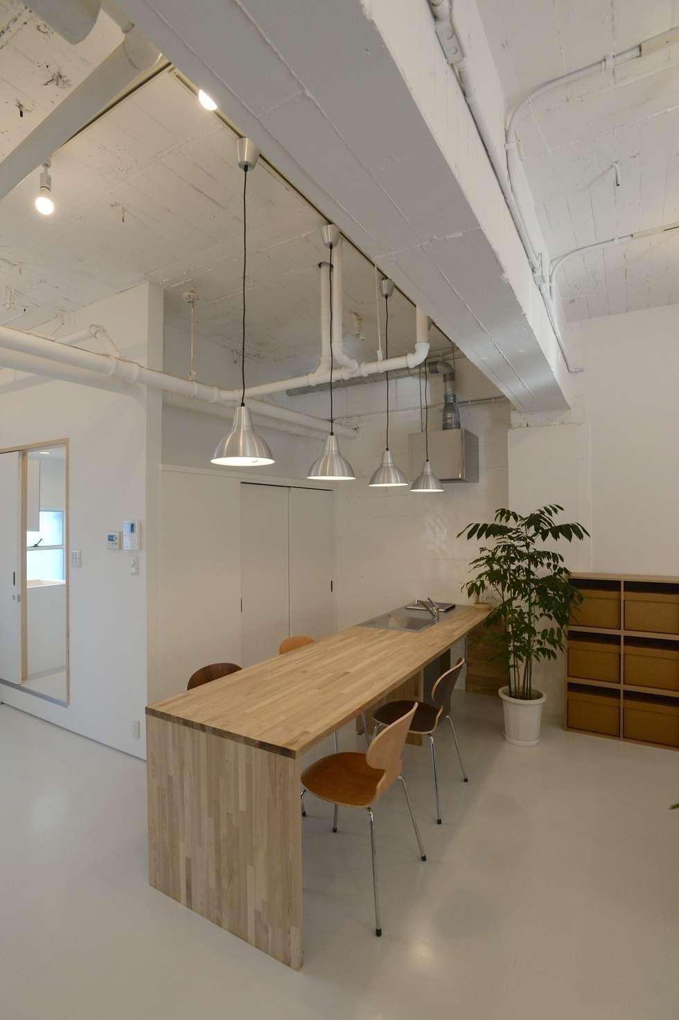 Кухни в . Автор – SHUSAKU MATSUDA & ASSOCIATES, ARCHITECTS