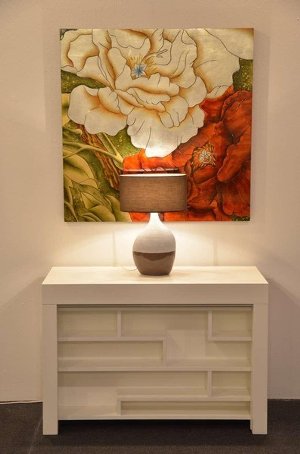 Idee arredamento casa interior design homify - Tavolo consolle maya ...