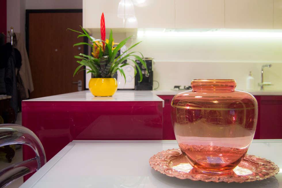 Idee arredamento casa interior design homify - Cucina laccata rossa ...