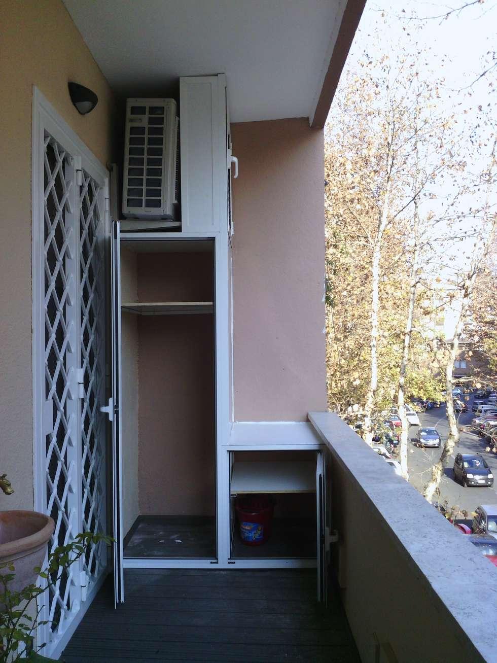 Idee arredamento casa interior design homify - Cucina sul balcone ...