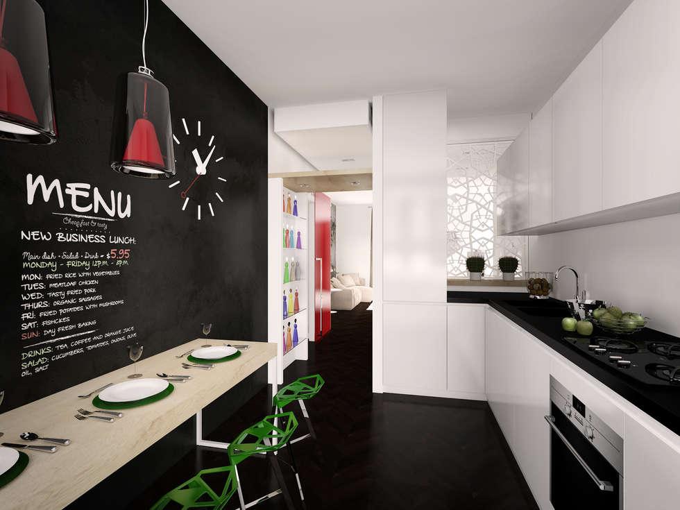 Idee arredamento casa interior design homify - Parete lavagna cucina ...