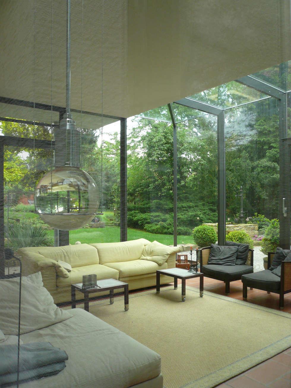 Modern conservatory by claus + pretzsch architekten bda | homify