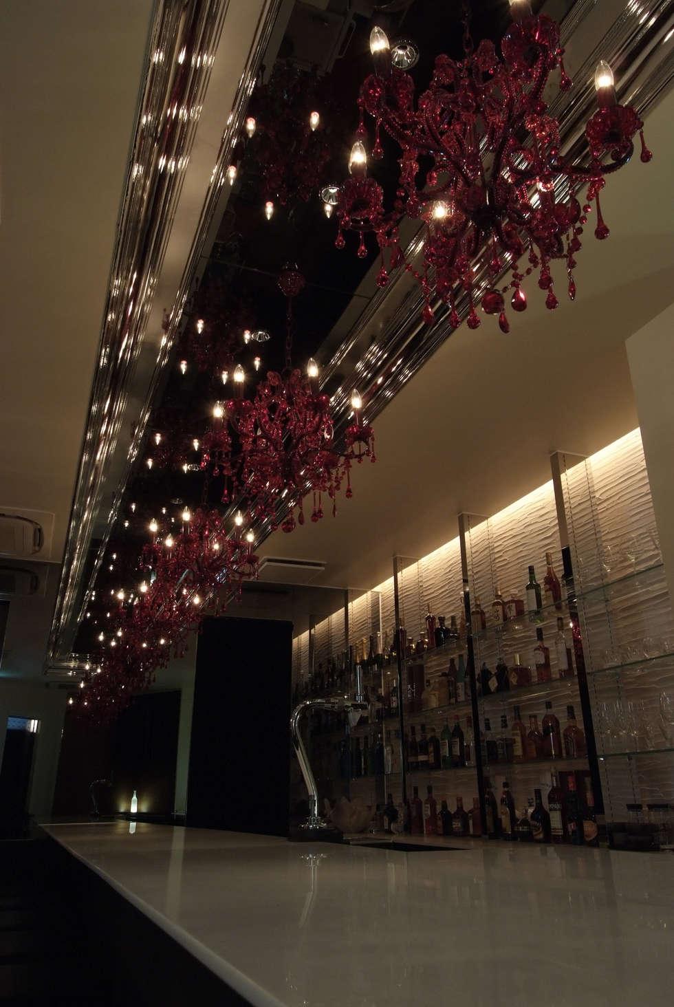 Bar counter-2: Shigeo Nakamura Design Officeが手掛けたオフィススペース&店です。