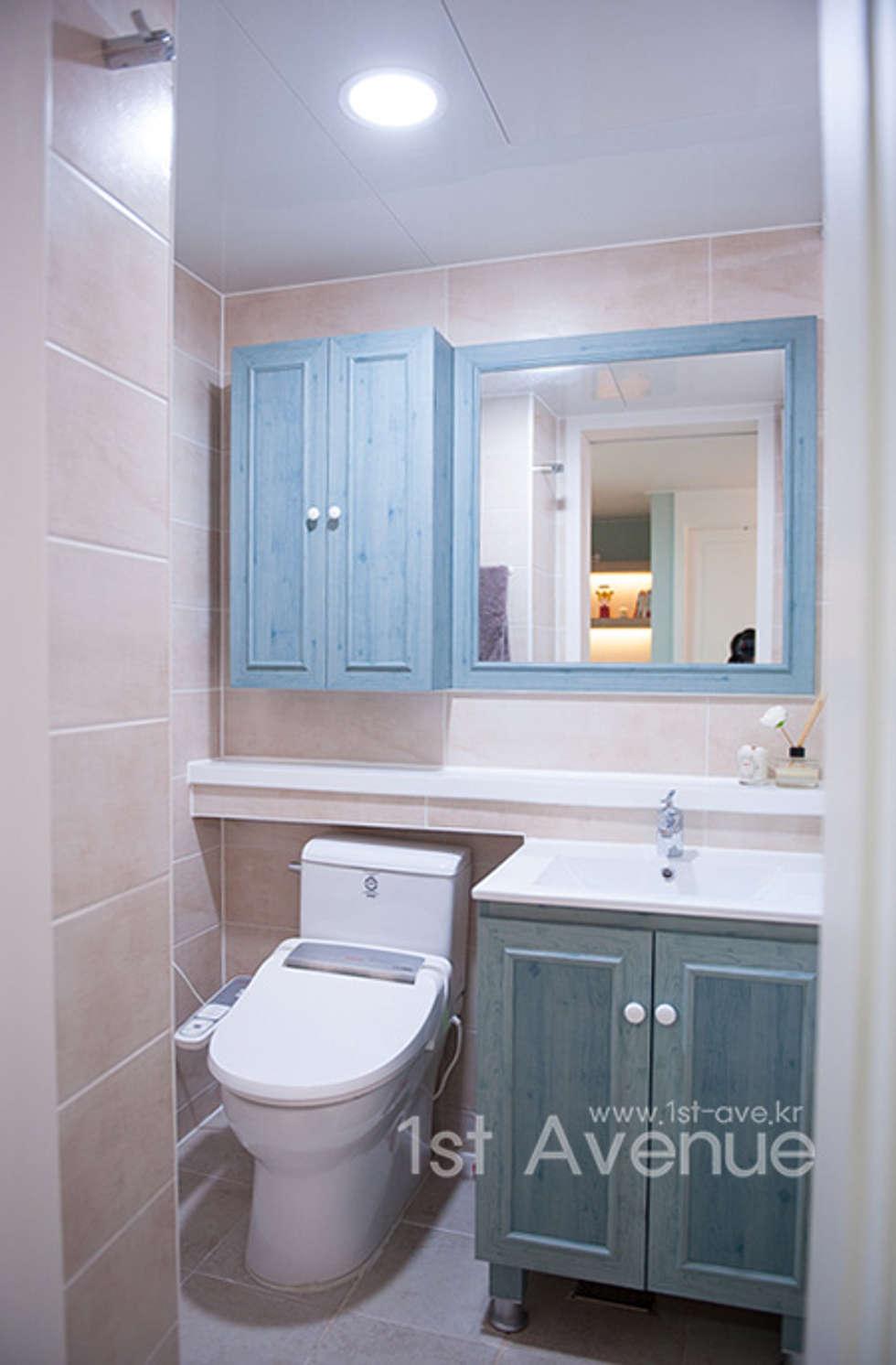 엄마의 사랑이 피어나는 러블리 하우스: 퍼스트애비뉴의  화장실
