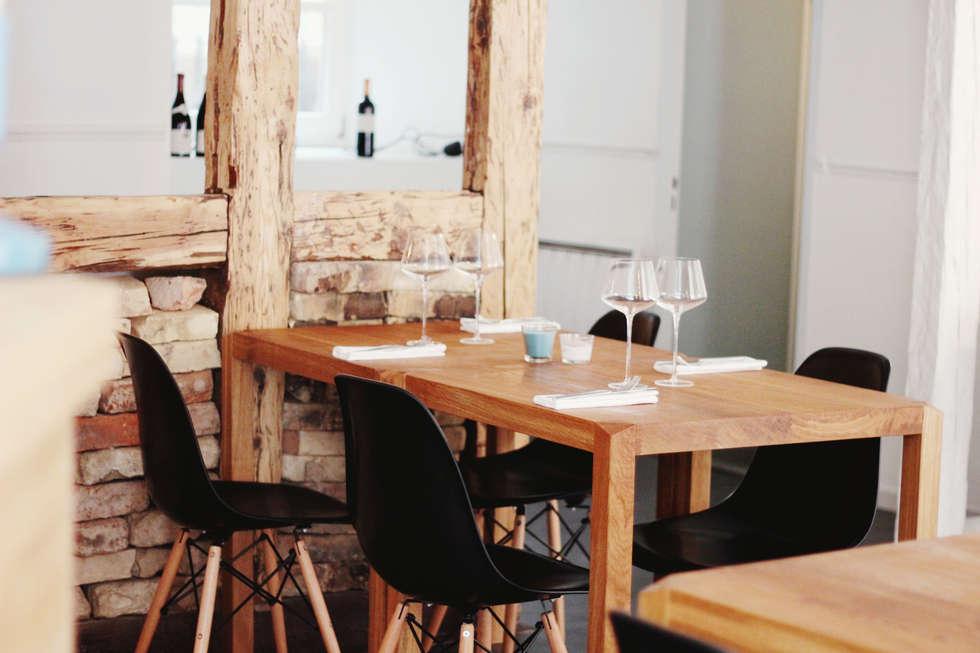 Réabilitation & décoration - Restaurant PBF: Restaurants de style  par Ektor studio