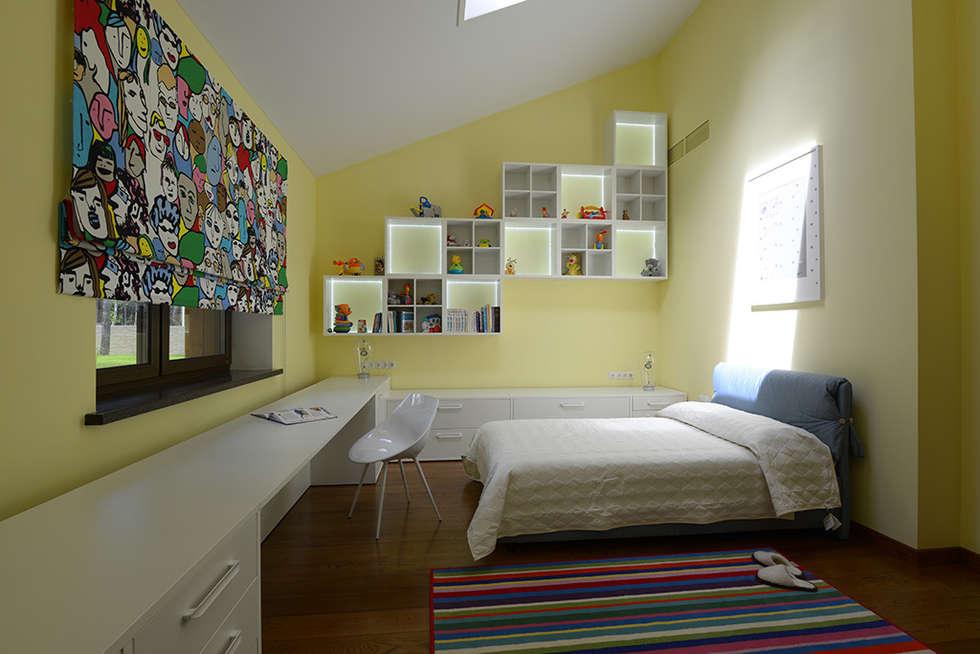 Nature and modern life: Детские комнаты в . Автор – Omela