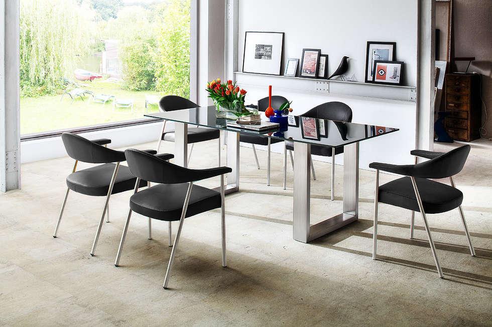 Stół szklany ARONA : styl , w kategorii Jadalnia zaprojektowany przez mebel4u