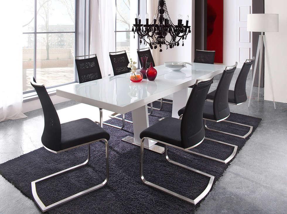 Stół rozkładany MILDRED : styl , w kategorii Jadalnia zaprojektowany przez mebel4u