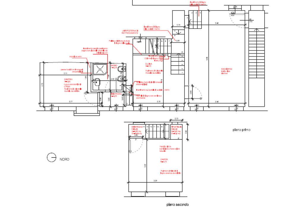 La planimetria: Case in stile in stile Classico di A-Office /architecture platform