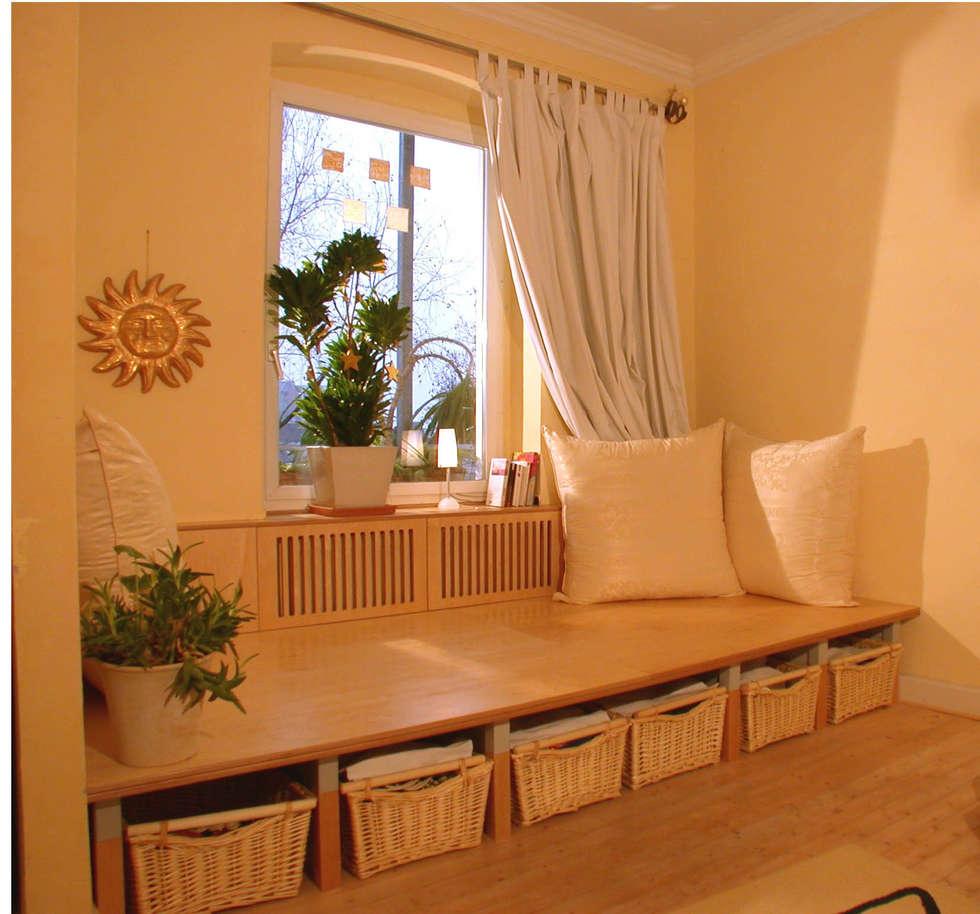 ausgefallene wohnzimmer bilder: schlafpodest mit kuschelecke zum, Hause deko