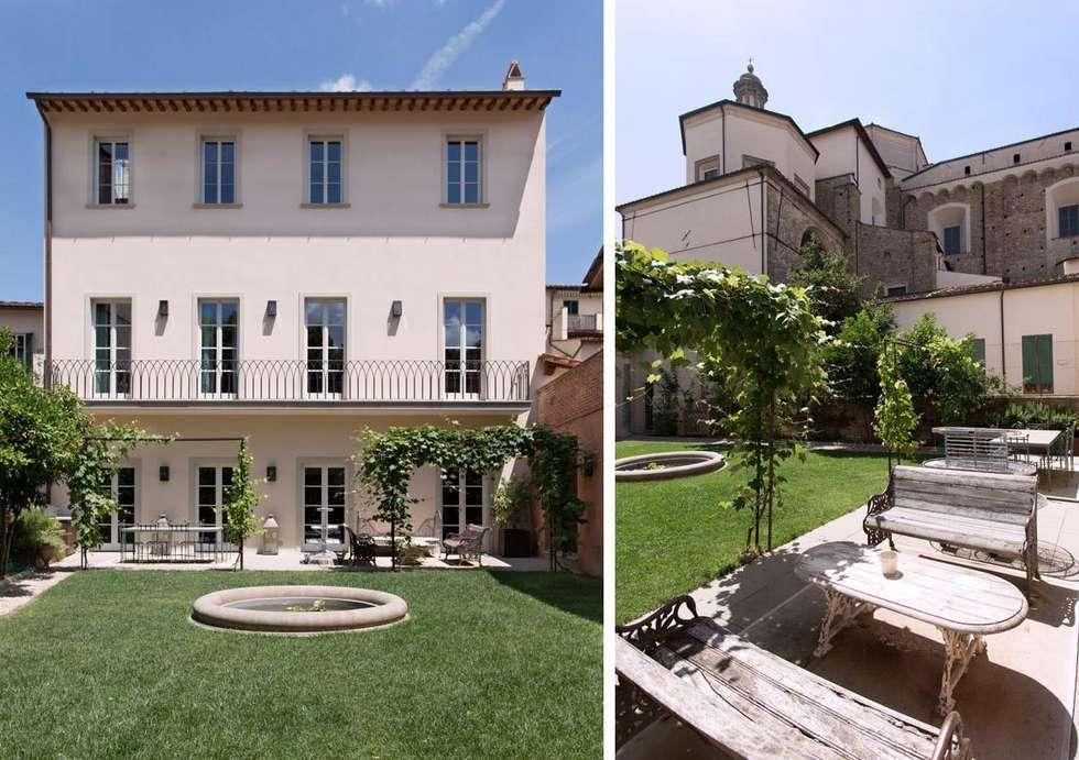 S.Monaca Townhouse: Case in stile in stile Eclettico di Luigi Fragola Architects