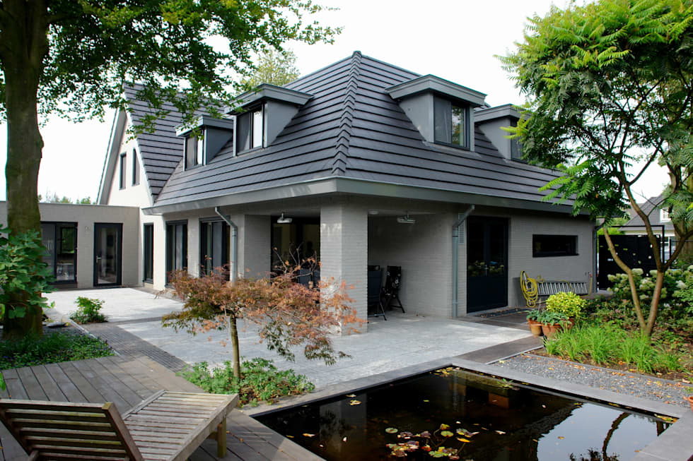 woonhuis in Uden: moderne Huizen door mickers architectuur